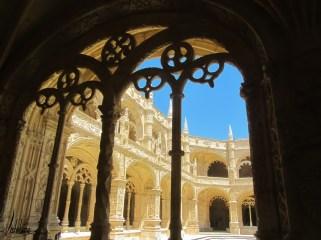 Le cloître du monastère des Hiéronymites, Belém