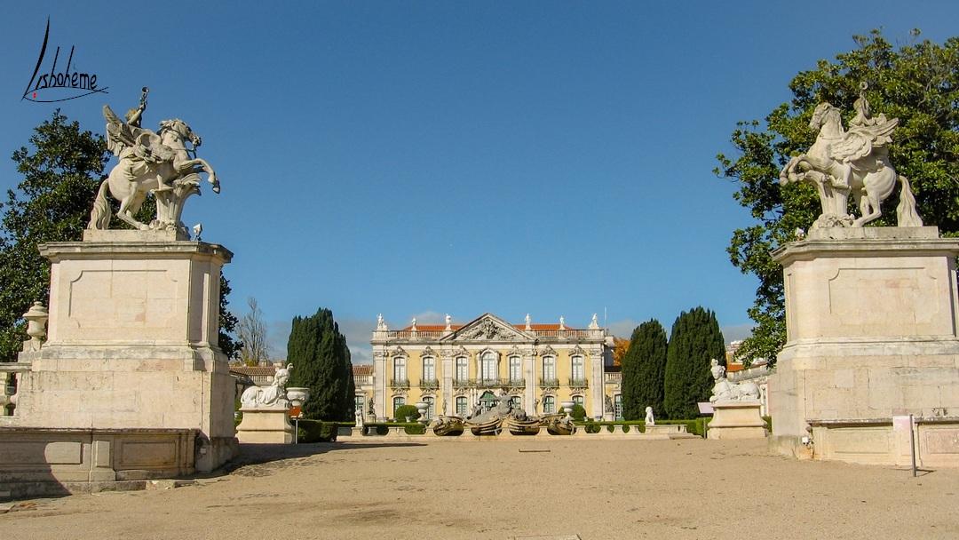 Palais de Queluz à Sintra, près de Lisbonne, Portugal