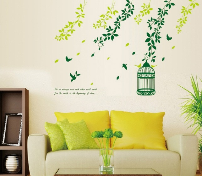 Creative Wall Painting Ideas For Living Room  Examples