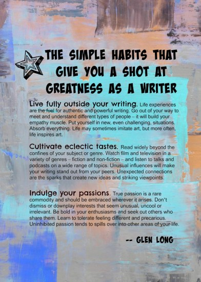 3 simple habits