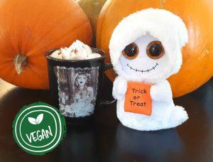 Vegansk pumpkin spice latté psl