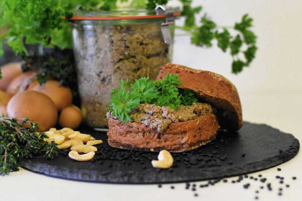 Den veganske madpakke – Glutenfri svampe spread