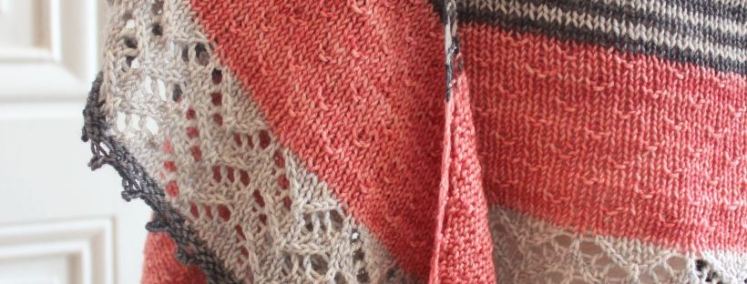 3 color cashmere shawl Joji Locatelli- Made by Lise Tailor