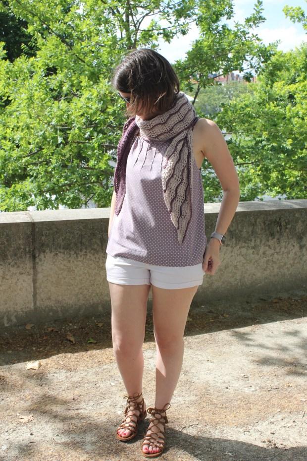 Good vibes shawl - NCL Knits