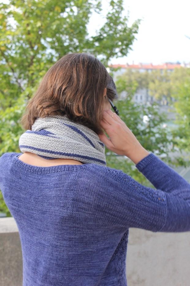 Châle masgot - Justyna Lorkowska - La fée fil