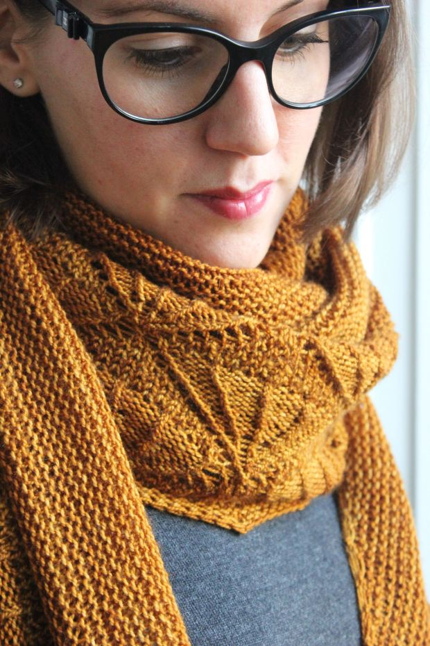Caress my soul shawl - Mélanie Berg