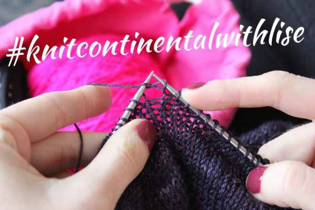 Knit continental with Lise