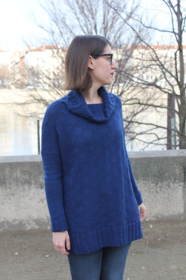 Kingston Tunic Jumper - Andrea Mowry - Drea Renee Knits