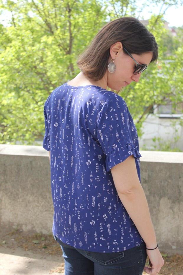 Scout tee - Grainline Studio - Blog couture