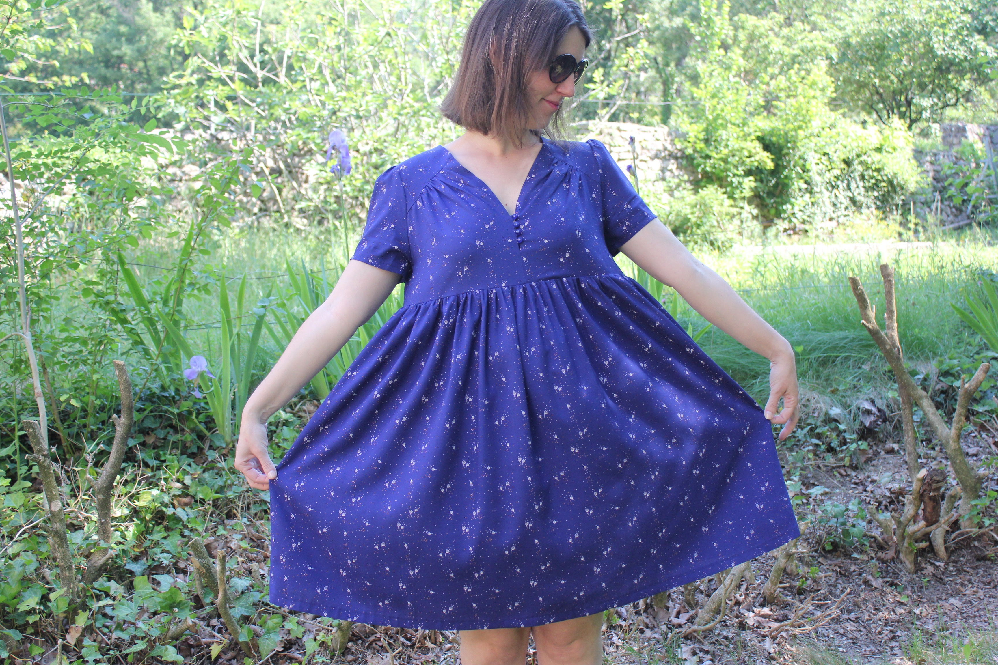 Robe Arlette dress - République du chiffon