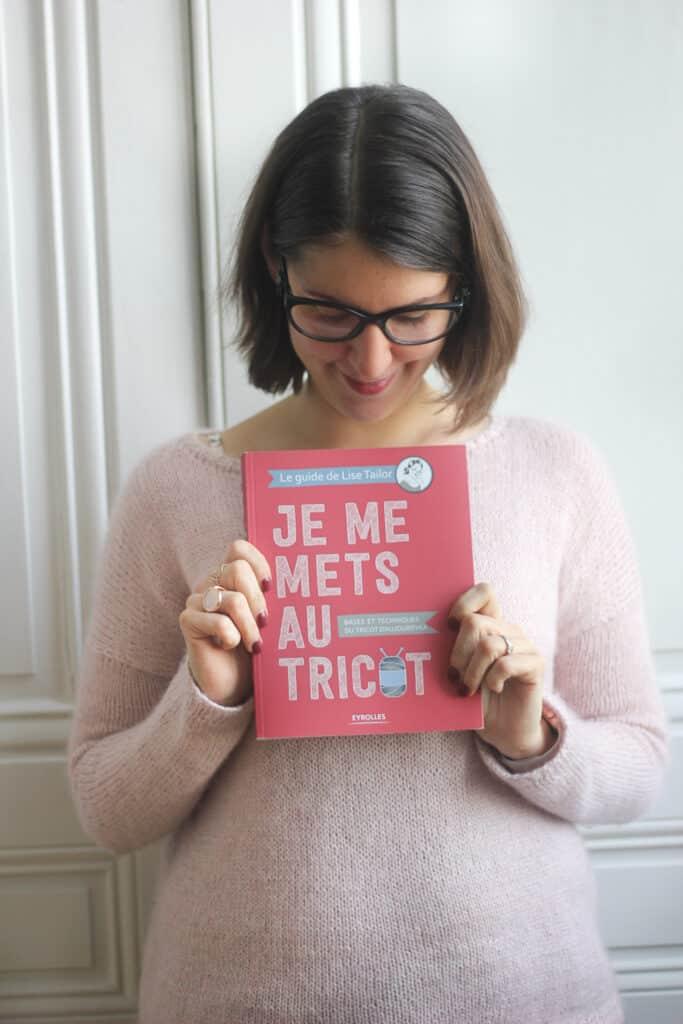 """""""Je me mets au tricot: Bases et techniques du tricot d'aujourd'hui""""..."""