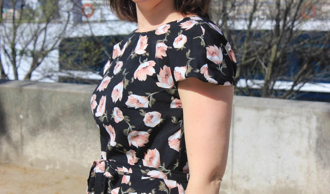 Robe Leaf - Dessine moi un patron - Blog couture