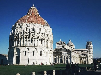 All there is to see in Pisa in one picture!