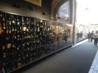 Display of the different brands of beers... Endless as you can see.
