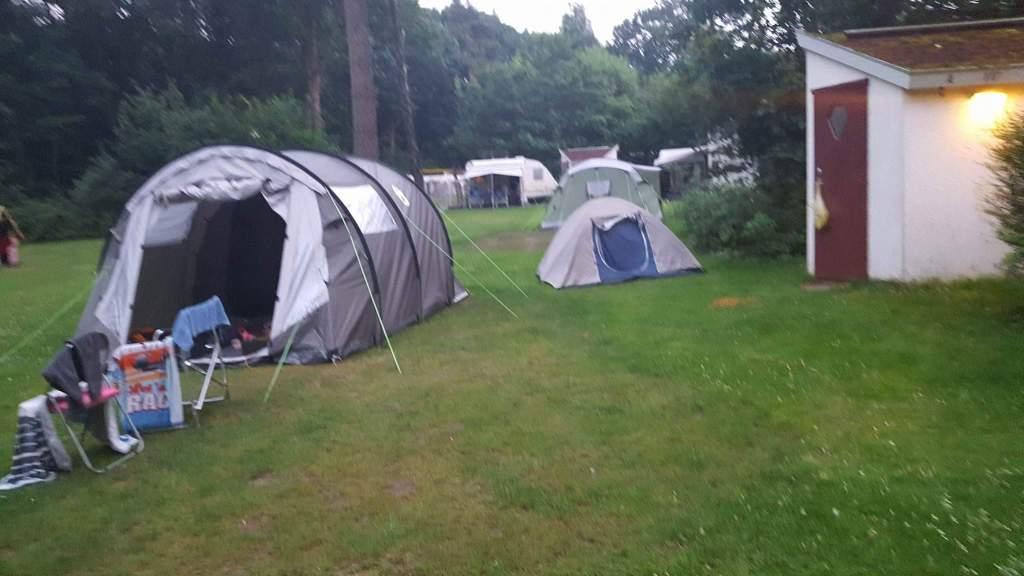 voor het eerst kamperen op een camping op de veluwe