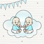 Zwangerschapsdagboek #2: op bezoek bij de tweeling en het hartje luisteren