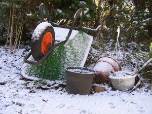 winter tuin onderhoud winterklaar sneeuw