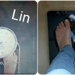 Het startgewicht van Linda.lijnt en Lisette.ook: #hoeveel?