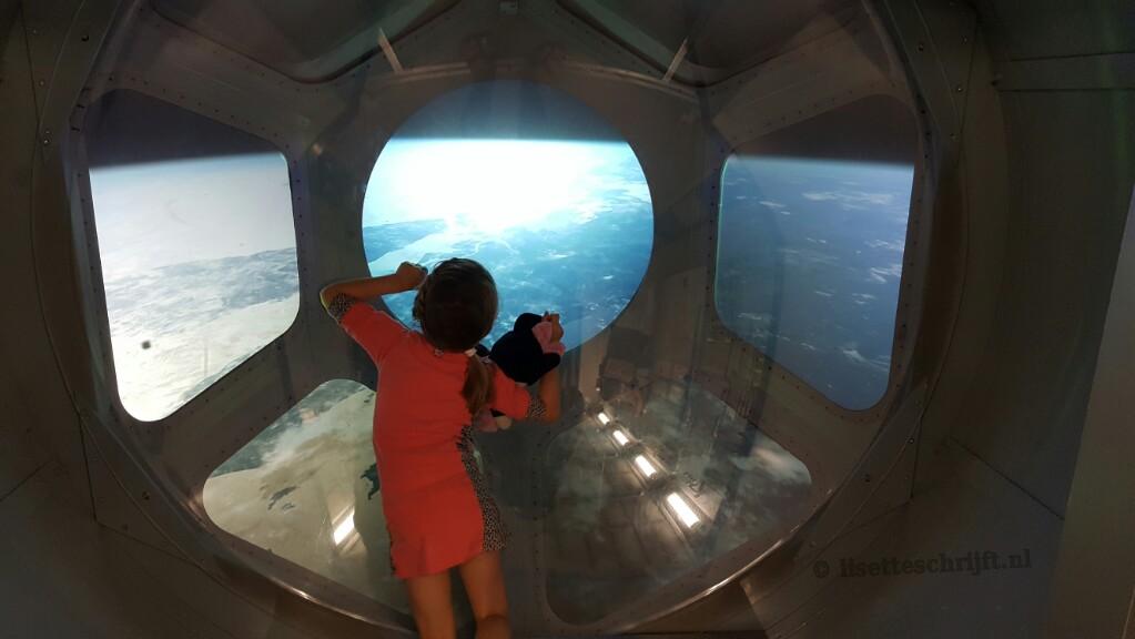 space expo noordwijk ISS satelliet andré kuipers ruimtevaart Lisette Schrijft leerzame uitstapjes met kinderen