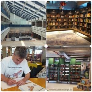 bibliotheek DOK Delft koffie drinken boeken lezen verkleden Lisette Schrijft