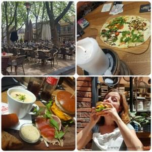 lekker eten lunch diner beestenmarkt Delft Moeke Café Vlaanderen