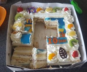 Als het midden van de taart mooier is eet je dat eerst op