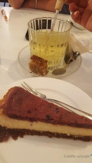 lekker groene thee en een stukje cheesecake bij Non pop-up in de Lier Lisette Schrijft
