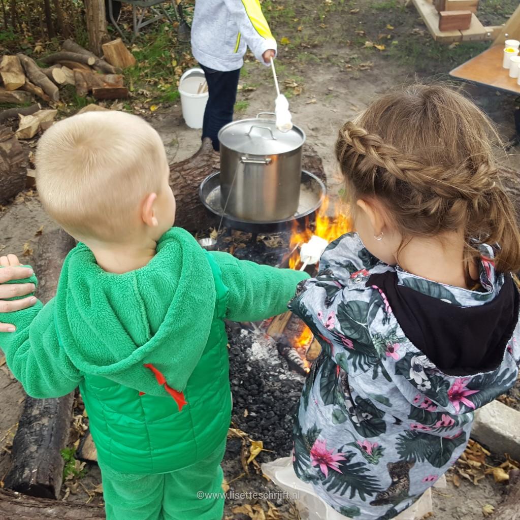 marshmallows roosteren bij de vreemde vogel vlaardingen Lisette Schrijft
