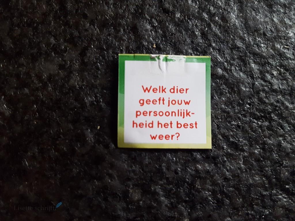 label van theezakje pickwick vragen