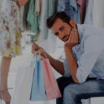Shoppen met je man: een hele uitdaging
