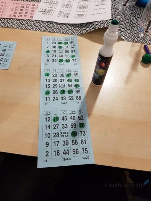 bingo! Lisette Schrijft