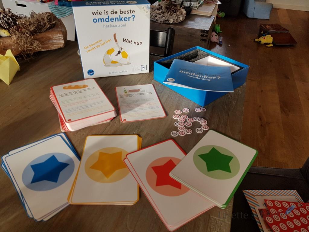 omdenken het kaartspel Lisette Schrijft