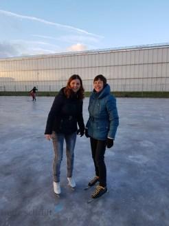 schaatsen op natuurijs Lisette Schrijft