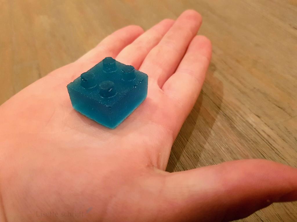 lego snoepje van gelatine Lisette Schrijft