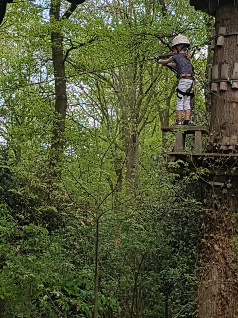 klimmen in fun forest vanaf 5 jaar 6 jaar Lisette Schrijft
