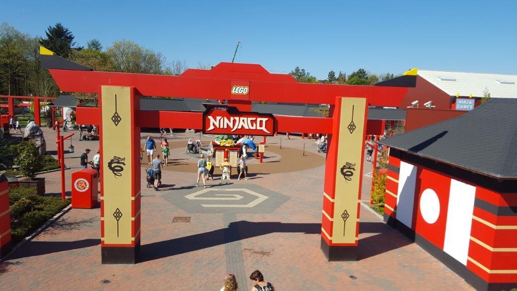 Lego Ninjago in Legoland Billund Denemarken Lisette Schrijft