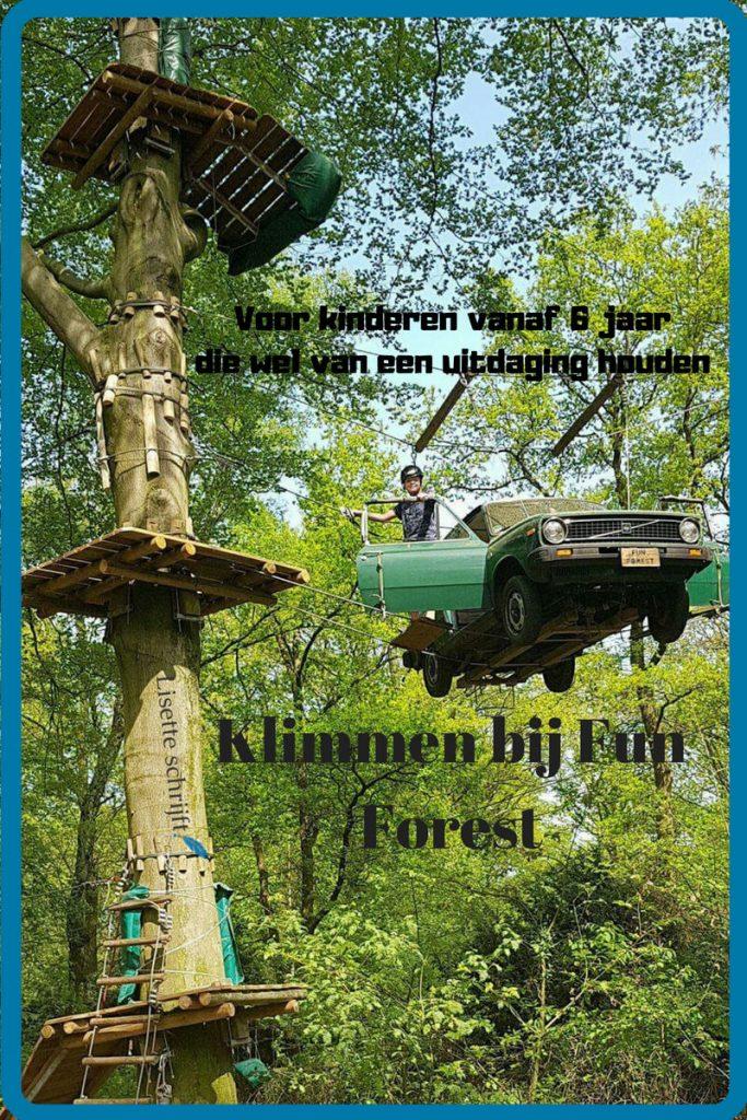 Klimmen bij Fun forest pinterest Lisette Schrijft