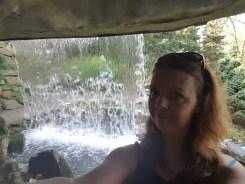 achter de waterval selfie Lisette Schrijft