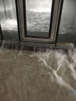 Zo kwam het water onze kas binnen