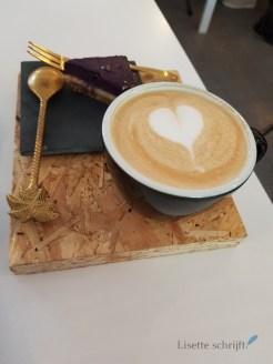 Lekker koffie drinken bij Non pop-up Lisette Schrijft