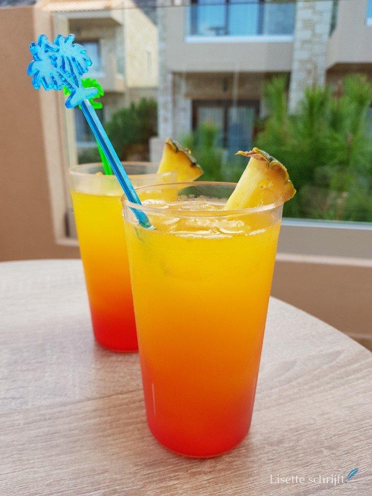 cocktail drinken hoeveel calorieën Lisette Schrijft