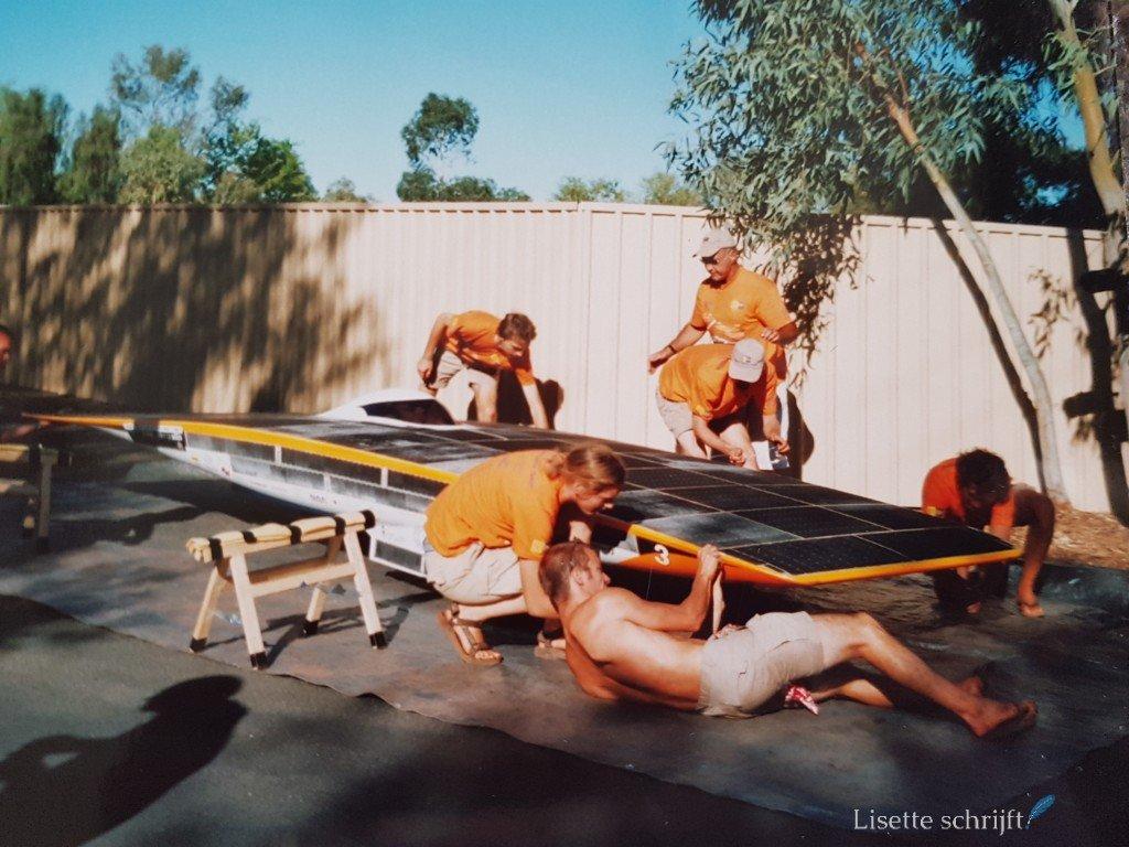 solar challenge in australie TU Delft Lisette Schrijft