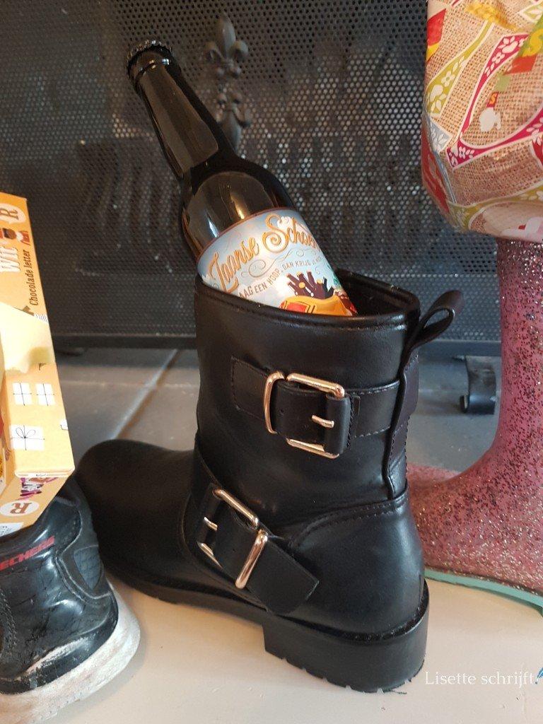 zaanse schoen speciaal bier voor sinterklaasintocht Lisette Schrijft