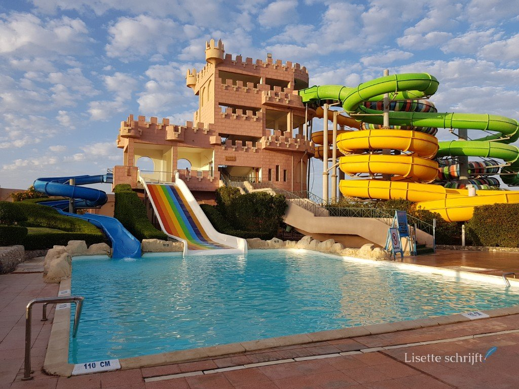 hotel met aqua park in egypte
