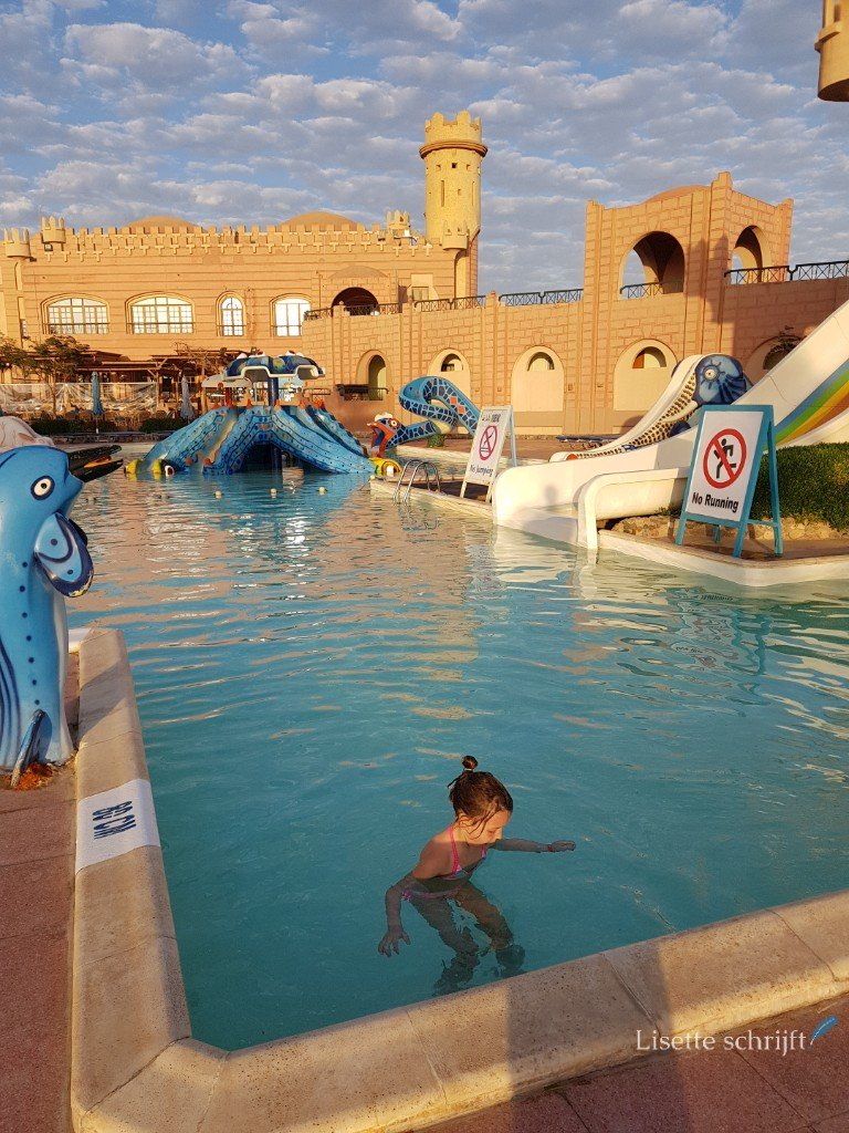 verwarmd peuterbad in hotel Akassia Marsa Alam