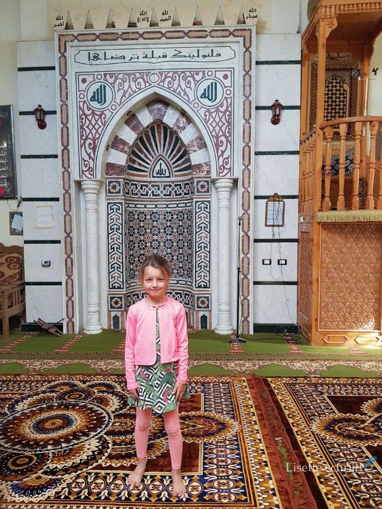 bezoek aan de moskee van el quseir