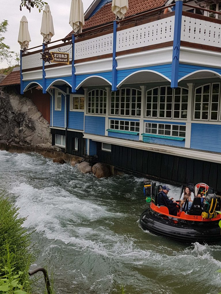 Fjord Rafting is de wildwaterbaan in Europa-Park