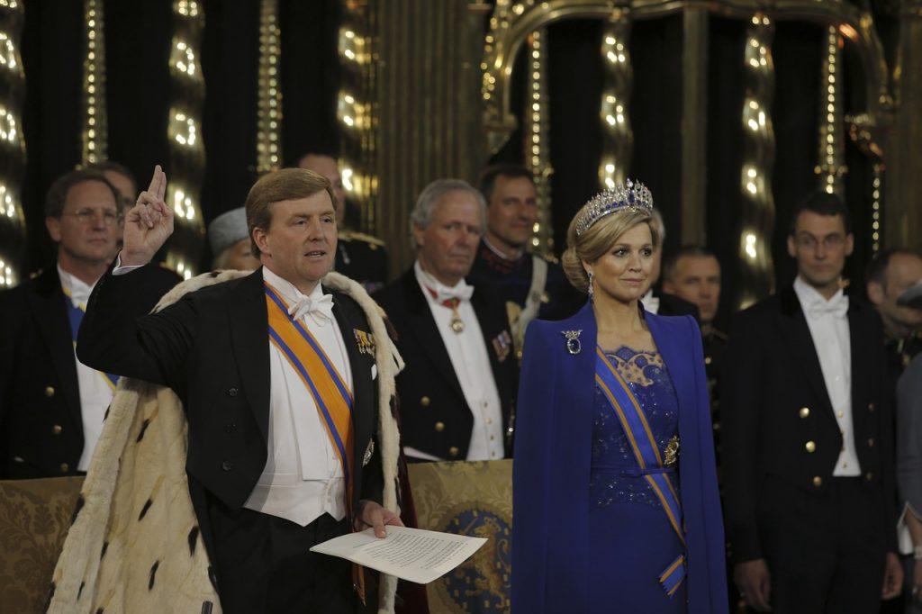 koning willem-alexander zonder baard