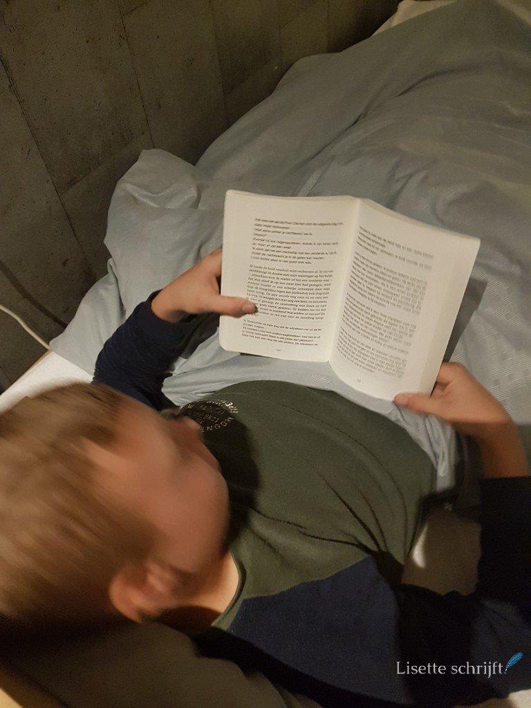 boek lezen middelbare school