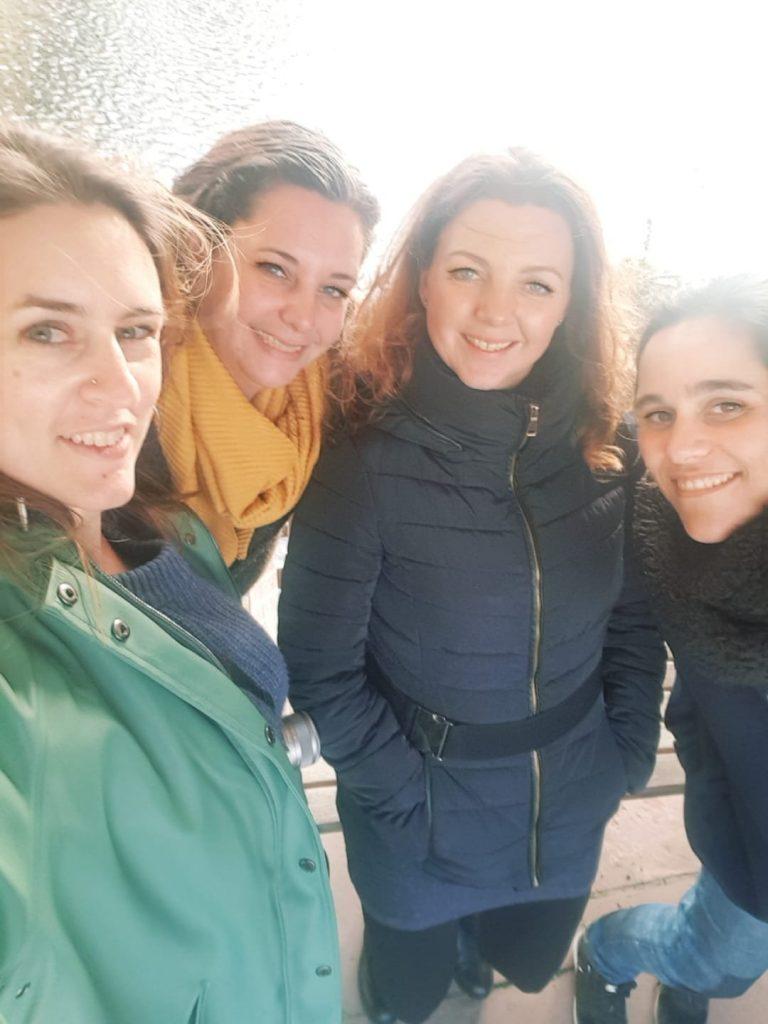 groepje vriendinnen